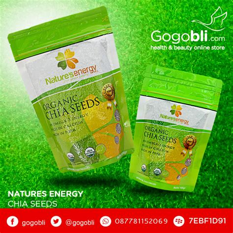 Natures Energy Organic Chia Seed 100gr natures organic energy chia seed