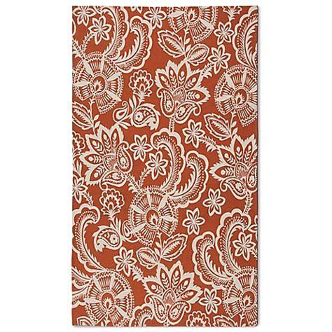 outdoor rugs naples fl naples jacobean floral indoor outdoor rug bed bath beyond