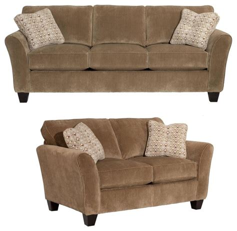 broyhill maddie sofa and loveseat 6517 3qls