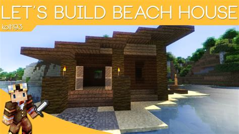 Minecraft Tiki Hut Minecraft Beach House Tutorial Youtube