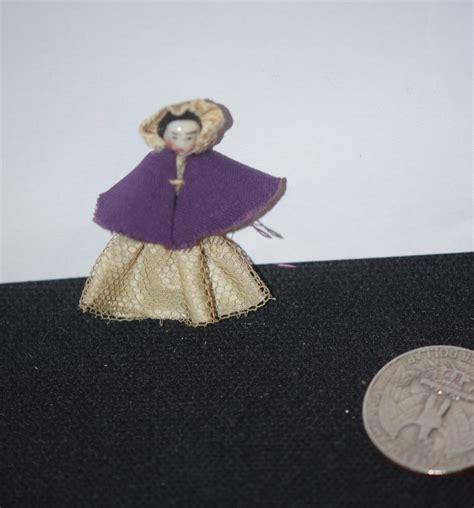 antique frozen dolls antique doll miniature frozen tiny dressed china