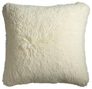 oversize fuzzy pillow contemporary pillows by pier 1