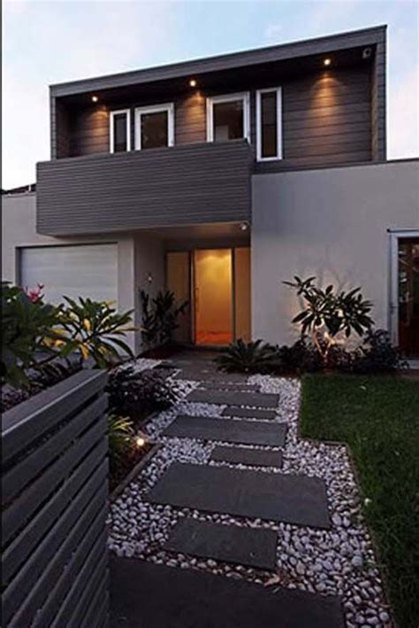 how to decorate a modern home 17 best ideas about modern front yard on pinterest
