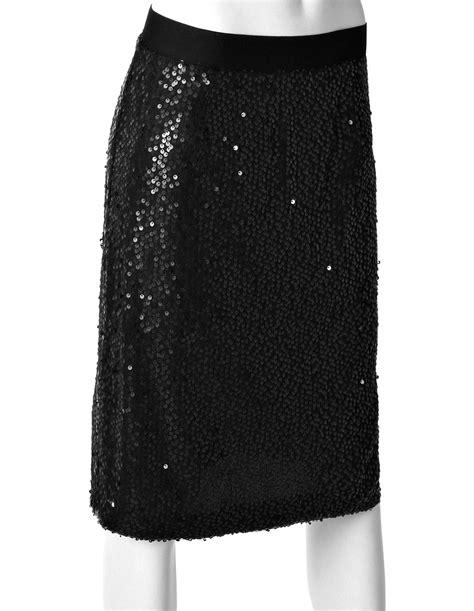 black sequin pencil skirt cleo