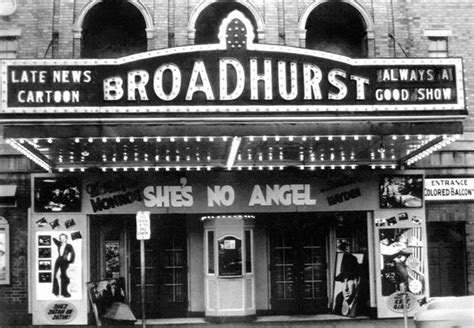 broadhurst theatre  high point nc cinema treasures
