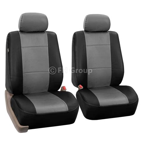 split bench seats pu leather car seat covers w carpet floor mats for split