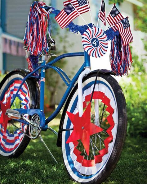 Decorate Your Bike by Outdoor Decorating Ideas For The Fourth Of July