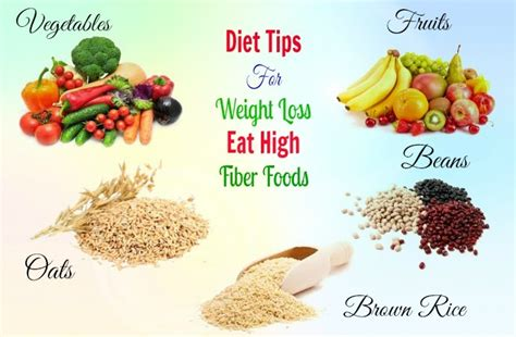 12 Best High Fiber Foods by 35 Best Diet Tips For Weight Loss Are Revealed