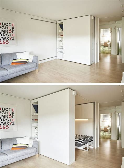 turn small spaces into cozy homes with ikea s sliding walls