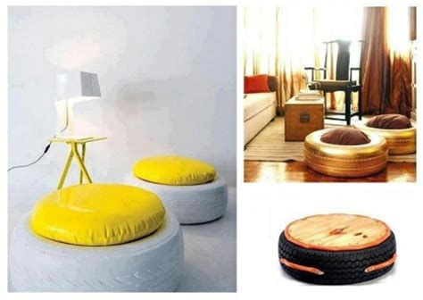 Compact Armchair 100 Diy Furniture From Car Tires Tire Recycling Do It