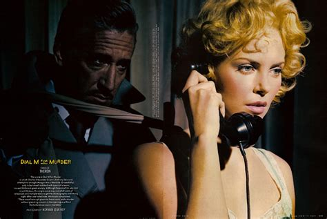Johansson Criminally In Vogue by Vanity Fair S Hitchcock Classics Photo Spreads