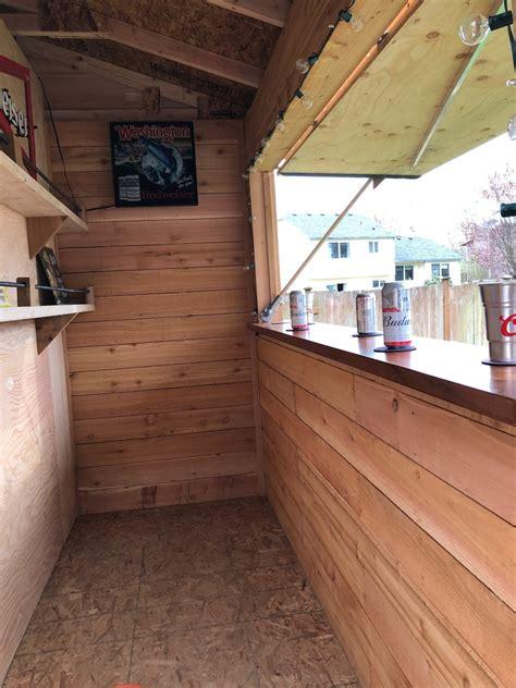 standard bar shed