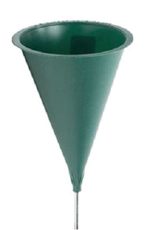Plastic Flower Vases For Cemetery by This 10 Inch Plastic Cemetery Cone Vase Comes With A