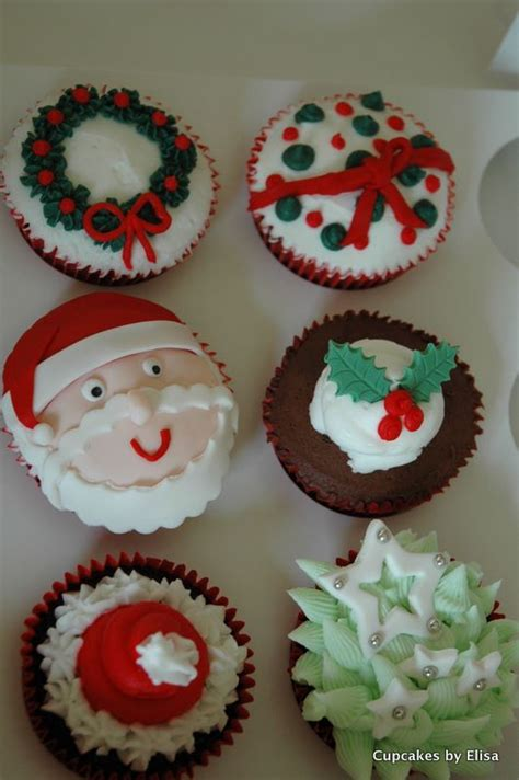 assorted christmas cupcakes cupcake ideas for you