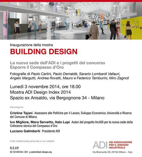 associazione italiana progettisti d interni adi associazione per il disegno industriale