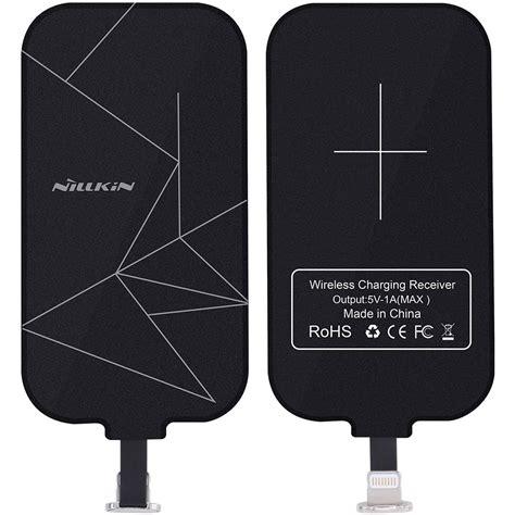 Nillkin Magic Wireless Charging Receiver Apple Iphonese 5s 5 Gold nillkin wireless charging receiver card iphone 7 6s