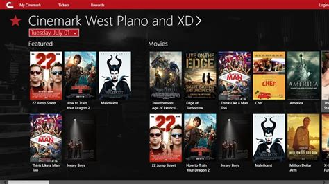 Cinemark Theater Gift Cards - moviegoers revel cinemark now available on windows 8 1 windows central