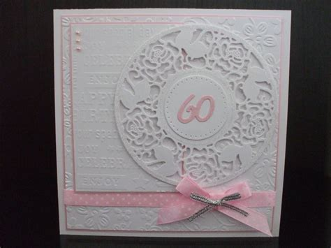 handmade 60th birthday card 60th birthday cards