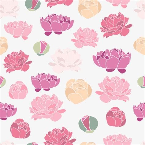 peoni pattern font free peony free vector download 75 free vector for commercial