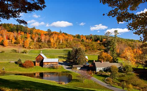 Tiny Farmhouse by 12 Best Vermont Fall Foliage Locations Travel Leisure