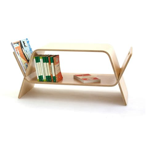 Book Shelf Bench by Embrace Coffee Table Bookshelf Bench Birch Homeware