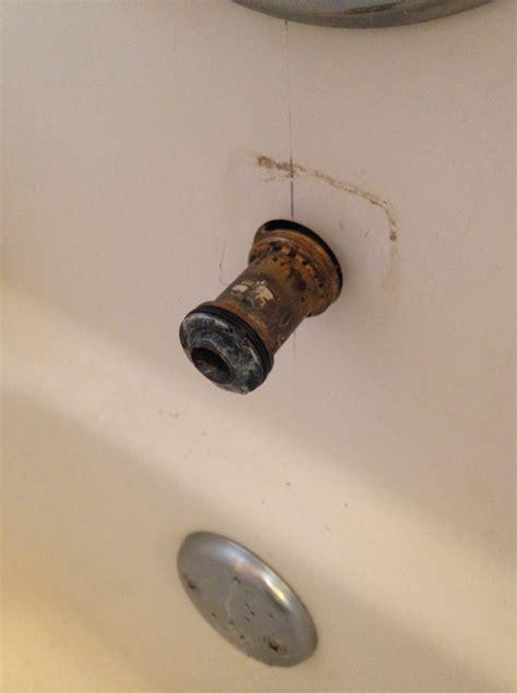 bathtub spout adapter diy armylife diywife