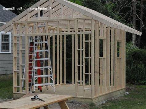custom design shed plans  gable storage diy