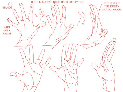 layout artist tutorial art hands reference tutorials hand tutorial soudasnicebutt