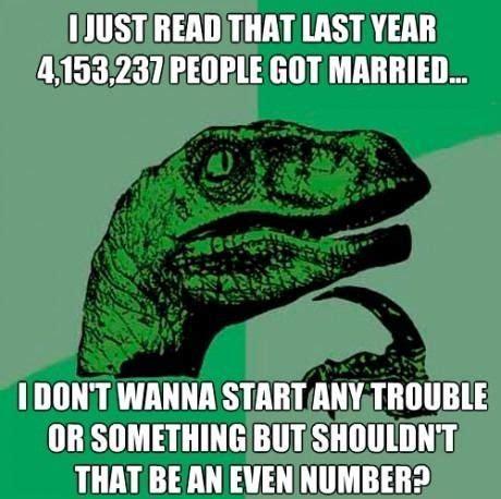 Meme Dinosaur - thinking dinosaur read funny memes jokes meme lol comedy