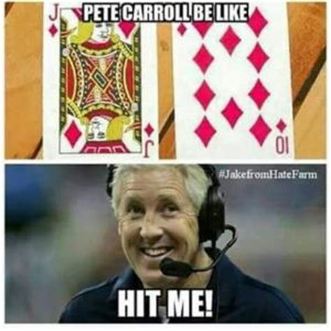 Pete Carroll Memes - seattle seahawks jokes kappit