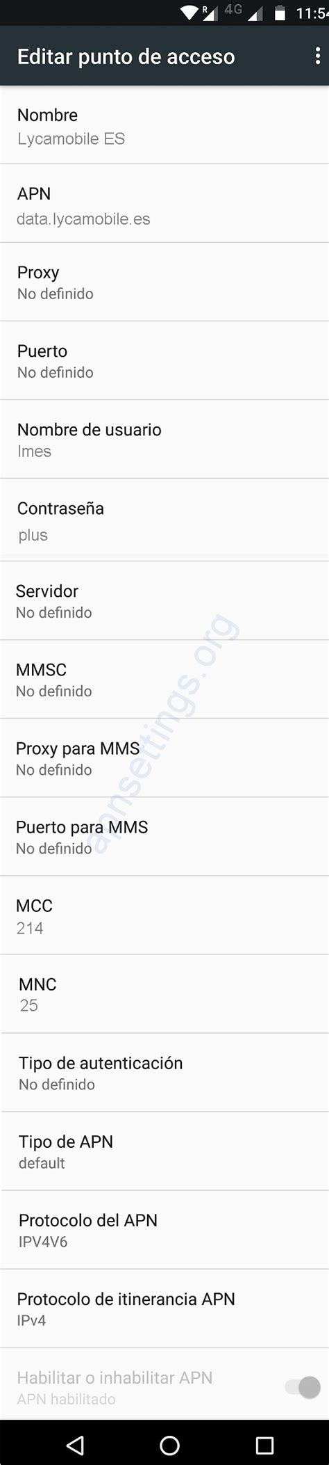 lycamobile mobile data settings apn de lycamobile espa 241 a 4g para iphone android 2018