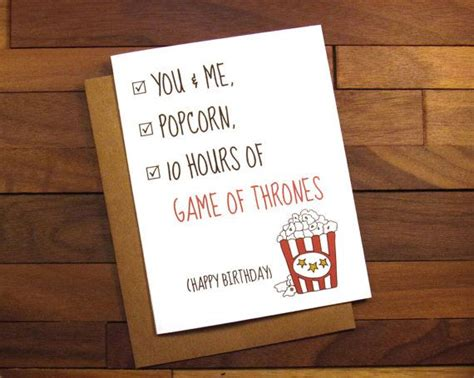 of thrones board card template birthday card of thrones birthday card with popcorn