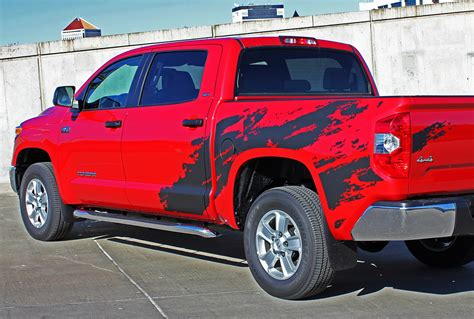Lp Kaos T Shirt Ford Racing 2 High Quality Lp product 2 side toyota trd tacoma mud splash graphics decals bedside vinyl