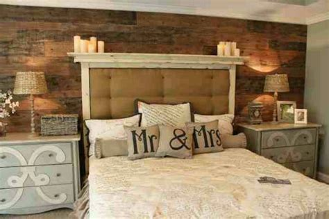 master bedroom candle love this look pallet wall headboard and candles