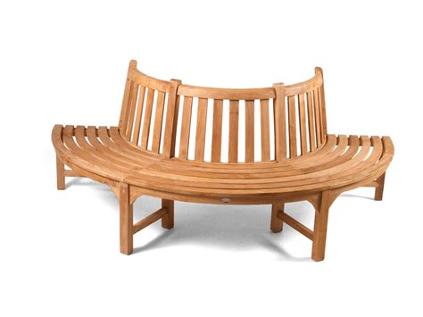 tree bench seat half tree seat teak bench grade a teak furniture