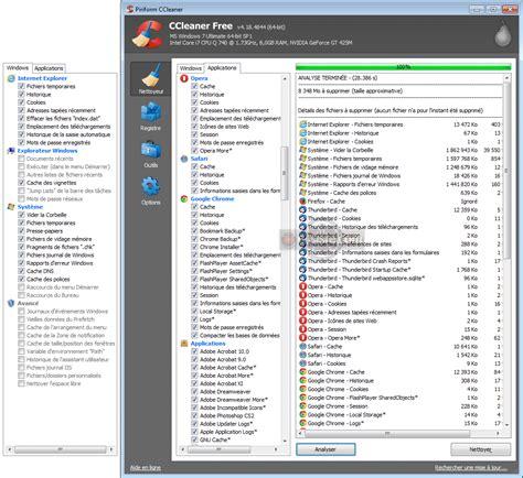 ccleaner vs comparaison nettoyage disque de microsoft vs nettoyeur
