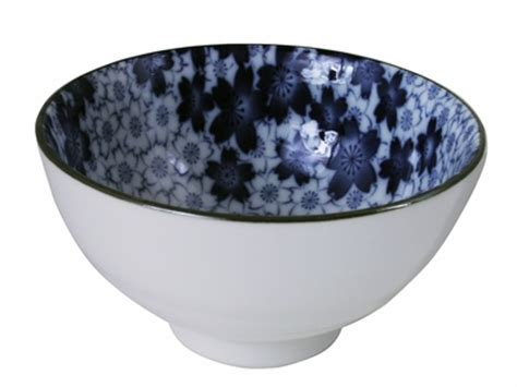 Japanese Kitchen Bowls Royal Blue Ceramic Serving Bowl