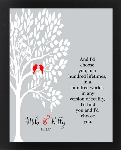 Wedding Anniversary Quotes For Husband Distance by Anniversary Gift For Husband Personalized By