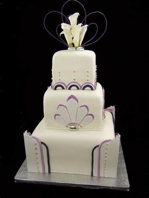 deco wedding cakes trend 2013 roaring 20 s splendid northwest