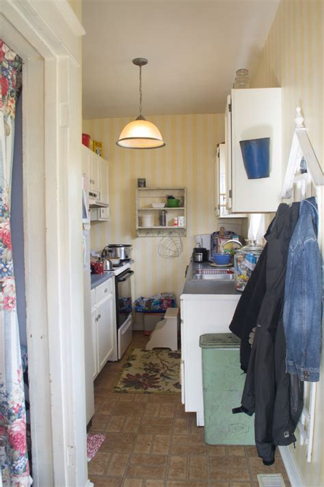 turning a galley kitchen into an open kitchen from a cred galley kitchen to a and bright open plan