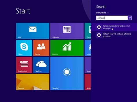 hp resetting your pc 1 how to restore windows 8 1 to factory settings