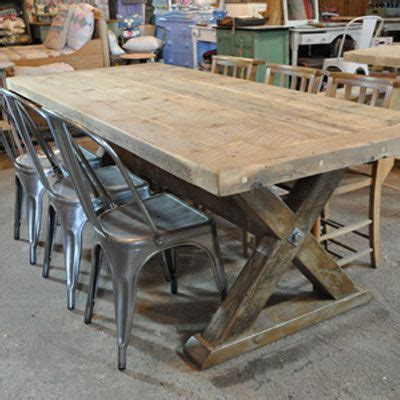 reclaimed trestle dining table reclaimed wood trestle dining table stuff i like