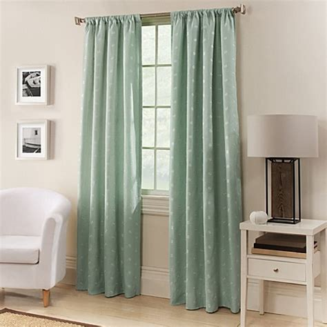 63 inch curtains bed bath beyond buy avalon 63 inch window curtain panel in spa blue from