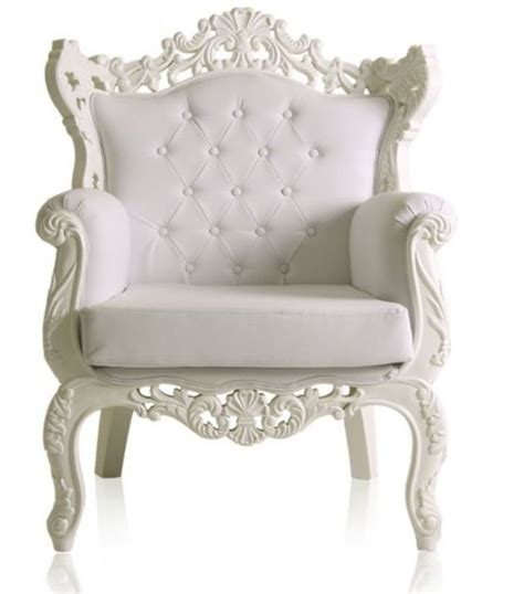 Royal Chairs by White Royal Armchair