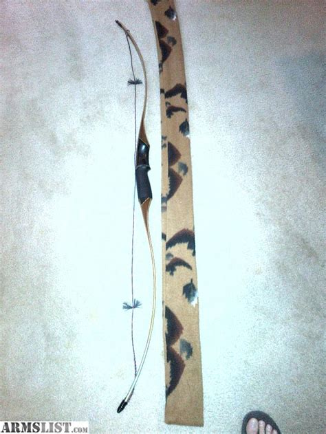Handmade Recurve Bows For Sale - armslist for sale trade humminbird custom recurve bow
