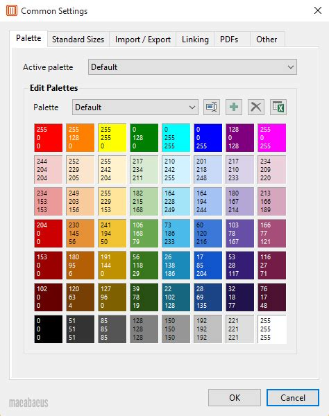 color themes in excel excel color palette 28 images color palettes macabacus