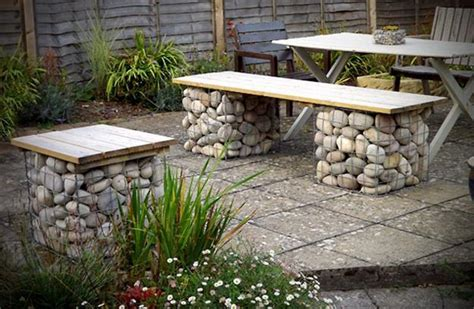 stone bench ideas outdoor garden bench plans