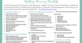 wedding coordinator checklist template printable wedding planning checklist for diy brides