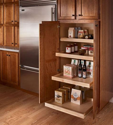 Kraftmaid Kitchen Cabinets Kraftmaid Roll Out Trays The Utility Cabinet On The Back Wall Will These But There Will