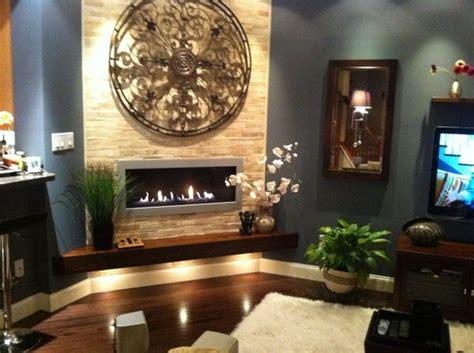 zen living room  splash   fireplace wall zen